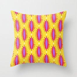 Cosmic Roar Pattern Throw Pillow