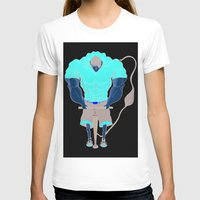 muscle T-shirts featuring Muscle Pump  by nightfrost4