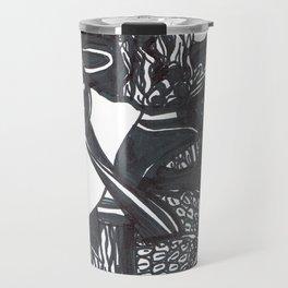 All Hallow's Eve', upside down Travel Mug