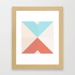 Geometric Pattern XII Framed Art Print