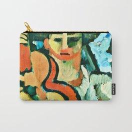 Cavaquinho by Amadeo de Souza Cardoso Portuguese Colorful Expressionism Carry-All Pouch