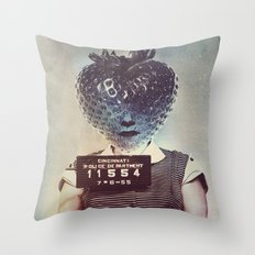 Betsy Berry Throw Pillow