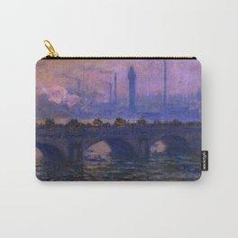"Claude Monet ""Waterloo Bridge"" (1903) Carry-All Pouch"