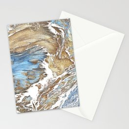 Woody Silver Stationery Cards