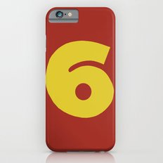 Number 6 iPhone 6s Slim Case