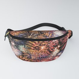 New Year Fireworks Fanny Pack