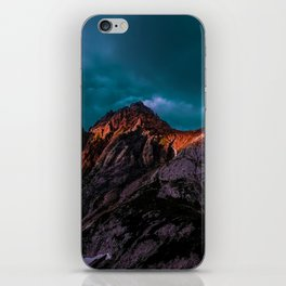 The Volcano Mountain (Color) iPhone Skin