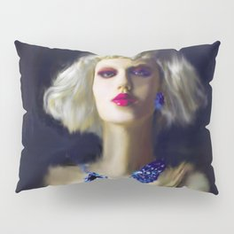 The Girl With The Blue Earring Pillow Sham