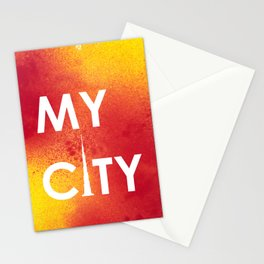 MyCity-Dubai-RedYellowA Stationery Cards
