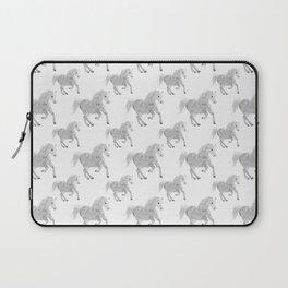 White Horse Pattern Laptop Sleeve
