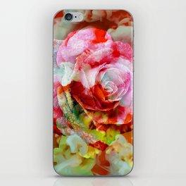 Fall Colored Rose iPhone Skin