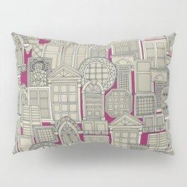 windows pink Pillow Sham