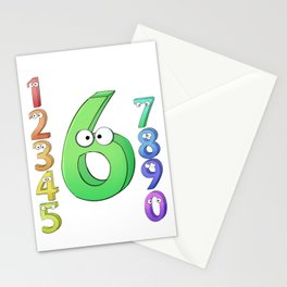Six! Stationery Cards