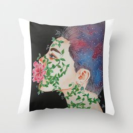 The Power of Words Throw Pillow