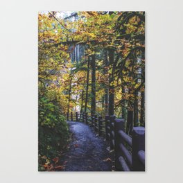 Glowing Yellow vertical Canvas Print