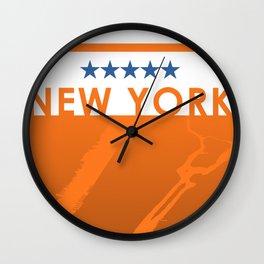 Minimalist New York Wall Clock