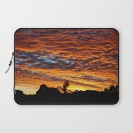 Sunset from the Sunshine Coast Laptop Sleeve