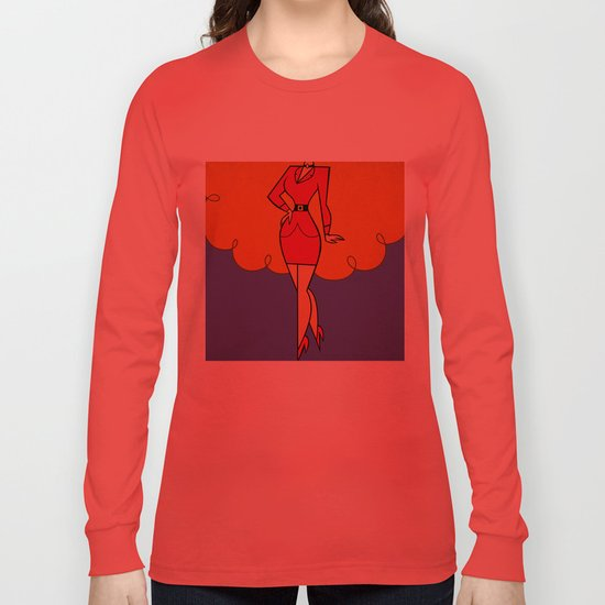 Ms. Sara  Long Sleeve T-shirt
