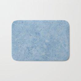 Lento blue marble Bath Mat