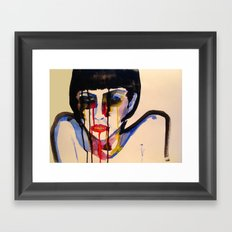 BL INK 3 Framed Art Print
