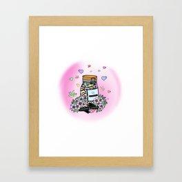 Jar of Dignity Framed Art Print