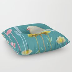 en chemin Floor Pillow