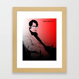 Stephen King Rules Framed Art Print
