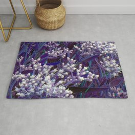 Bunches of Tiny Flowers Rug