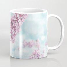 Lilac power in pastel Mug
