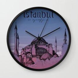 Istanbul - Ayasofya Wall Clock
