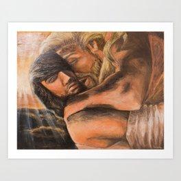 Gods in Olympus Art Print