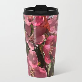 Crab Apple Blossoms Travel Mug
