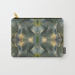 Leafy gray Carry-All Pouch