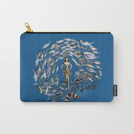 Mermaid in Monaco Carry-All Pouch