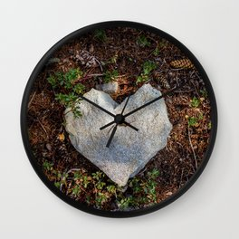 Nature Loves You Wall Clock