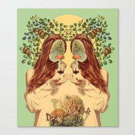 Conquering Self Canvas Print
