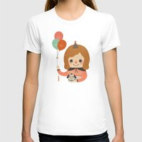 ballon T-shirts featuring Hold The Happy Ballon by Minifanfan