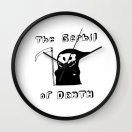 The Gerbil of DEATH Wall Clock