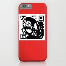 QR- Spiderman iPhone 6s Slim Case