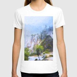 Love Affair By A Waterfall T-shirt
