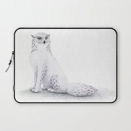 Snowy Fowl II Laptop Sleeve