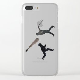 Riot Baseball Clear iPhone Case