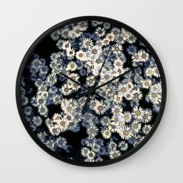 Flower meadow 01 Wall Clock