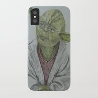 yoda iPhone & iPod Cases featuring Yoda by nosila.art