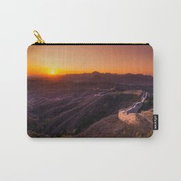 Great wall sunset Carry-All Pouch