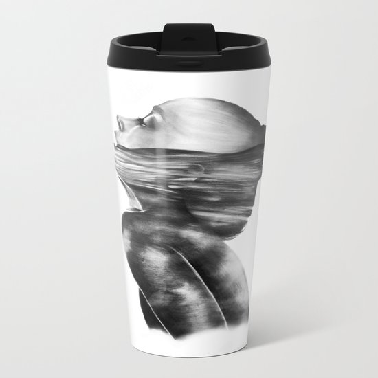 Dissolve // Illustration Metal Travel Mug