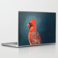 cardinal Laptop & iPad Skins featuring Cardinal by Freeminds