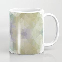 """Flowerbed"" triangles design Coffee Mug"