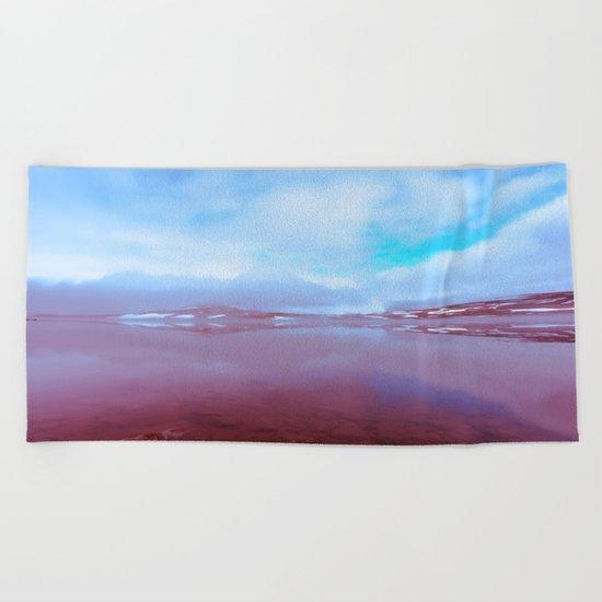 The Art of Living Beach Towel