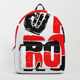 Rock N Roll Music Lover Musician Backpack